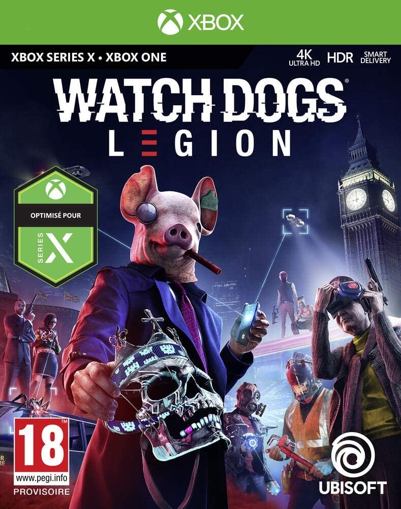 Xbox Playstation Pc Gaming Stadia Watch Dogs Legion Idle Chatter