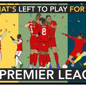 What's Left To Play For In The Premier League?